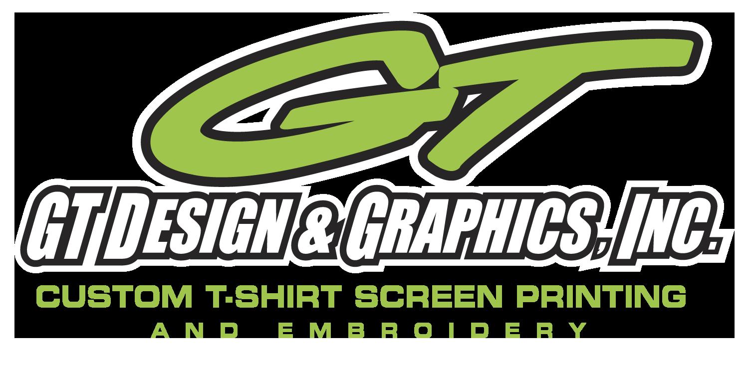 Design t shirt embroidery - Gt Design Graphics Inc